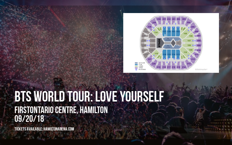 BTS World Tour: Love Yourself at FirstOntario Centre