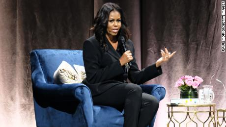 Michelle Obama at FirstOntario Centre