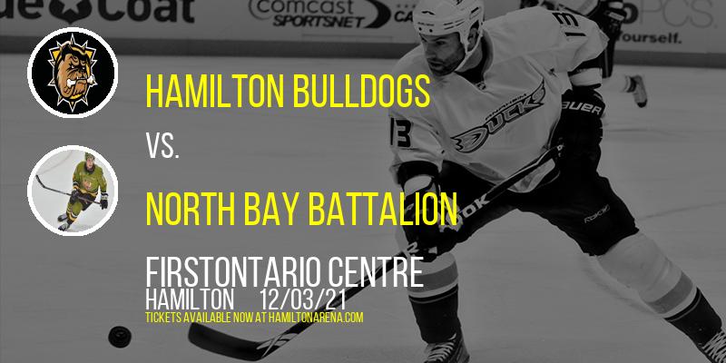 Hamilton Bulldogs vs. North Bay Battalion at FirstOntario Centre
