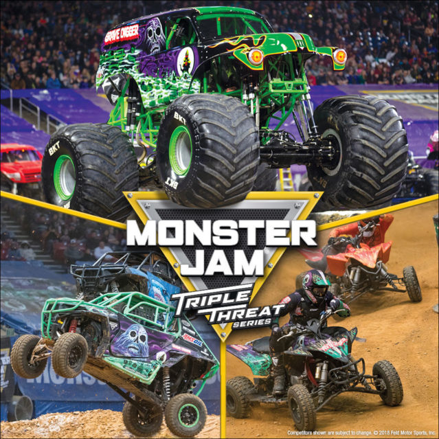 Monster Jam Triple Threat Series at FirstOntario Centre