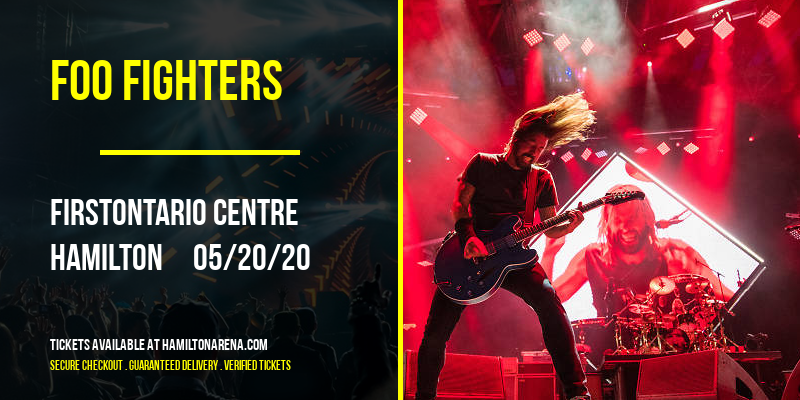 Foo Fighters at FirstOntario Centre